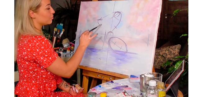 Уроки рисования маслом. Как нарисовать картину рисуем маслом
