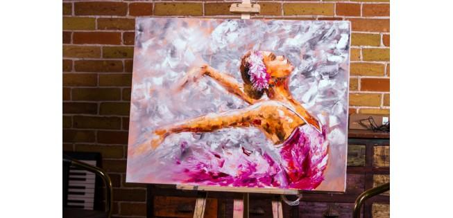 Уроки рисования Лилии Степановой. Рисуем поэтапно. Балерина маслом